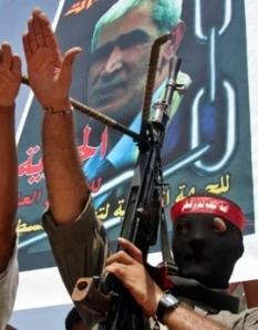 """Hamas """"Friedenskämpfer"""" beim Hitlergruß"""