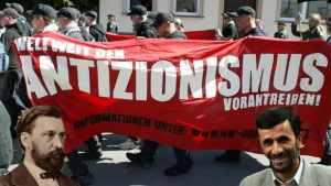 Treitschke, Achmadienjad und die Antizionisten